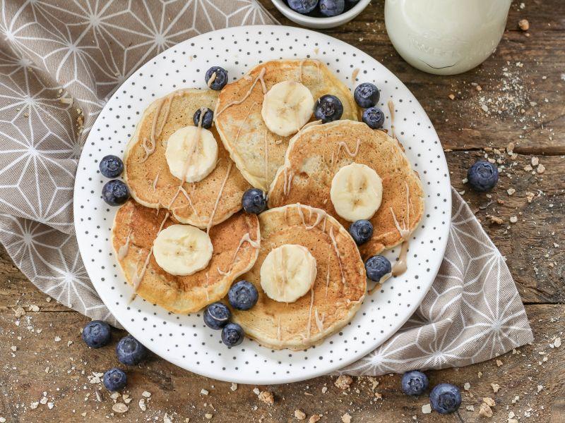 Baby Bananen-Pancakes 1