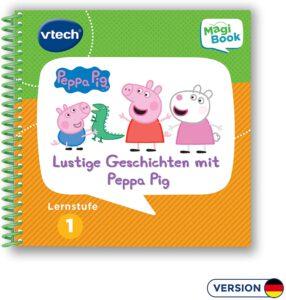 Lustige Geschichten mit Peppa Pig Vtech MagiBook 3D