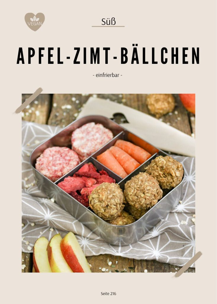 Apfel-Zimt-Bällchen