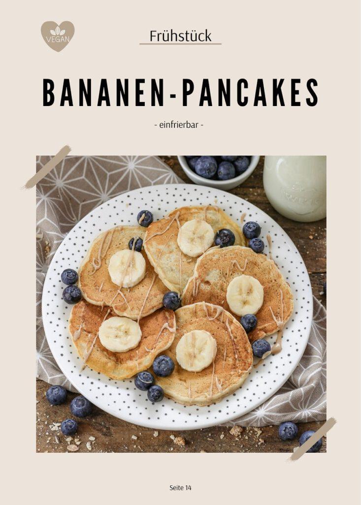 Bananen - Pancakes