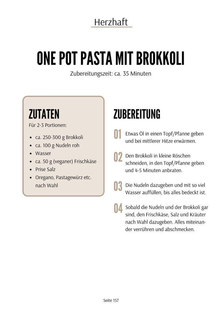 One Pot Pasta Rezept - Kinder