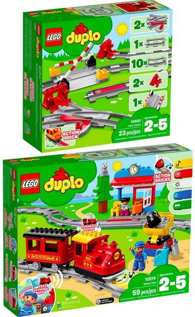 Lego Duplo Eisenbahn Starter Set mit Schienen