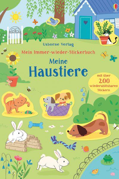 Mein Immer-wieder-Stickerbuch Usborne Verlag